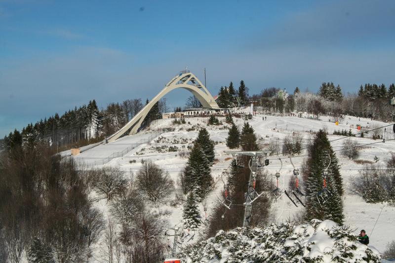 Skischanze in Winterberg