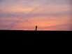 Jogger am Horizont
