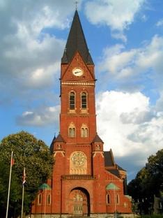 Der Sauerländer Dom in Arnsberg-Neheim