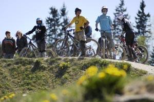 Biken im Jugendcamp