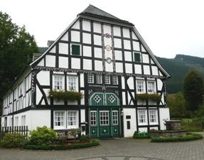 Fassaden in Schmallenberg